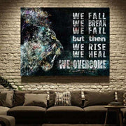 FALL, HEAL AND OVERCOME! - Hustling Sharks
