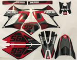 Kit Déco DERBI DRD RACING 2004-2009 GREY RED