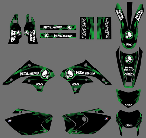 Kit Déco KAWASAKI KLX 450 2008-2018 METAL MULISHA