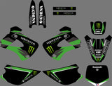 Kit Deco KAWASAKI KX 85-100 1998-2012 GREEN MONSTER