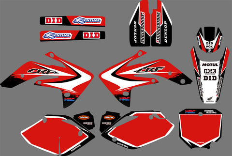 Kit Déco HONDA CRF 150 2007-2018 ORIGINE
