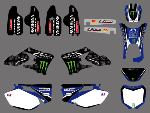 Kit Déco YAMAHA WRF WR 250-450 2003-2006 MONSTER