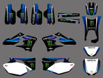 Kit Déco YAMAHA WRF WR 250-450 2003-2006 MONSTER #2
