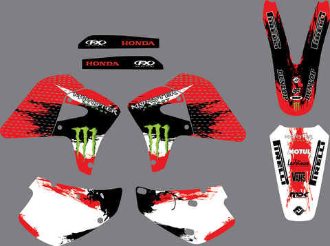 Kit déco HONDA XR 650 2000-2009 MONSTER