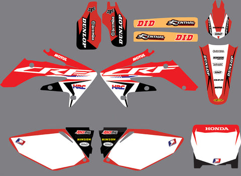 Kit déco HONDA CRF 250 2004-2009 ORIGINE