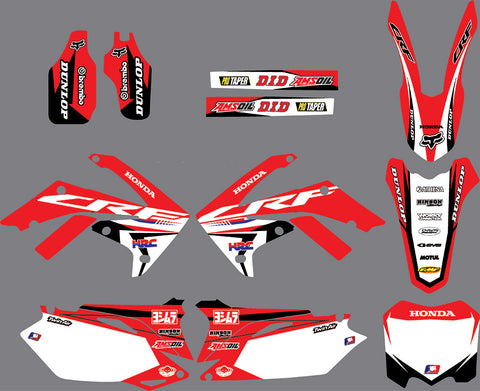 Kit déco HONDA CRF 250-450 (2009-2012) ORIGINE #2