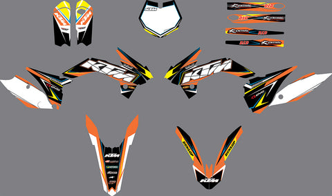 Kit Déco KTM SX 85 2013-2017 FACTORY #2