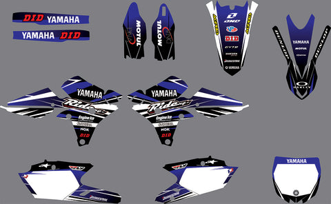 Kit Déco YAMAHA YZF 250-450 2014-2017 RIDE