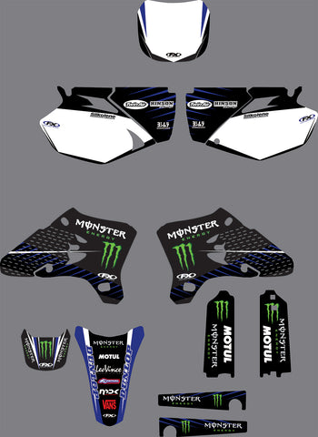Kit Déco YAMAHA YZF 250-450 2003-2005 MONSTER