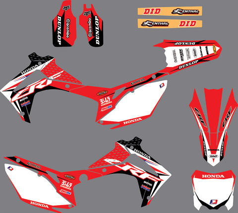 Kit déco HONDA CRF 250-450 2013-2016 ORIGINE #2