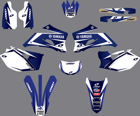 Kit Déco YAMAHA WRF 250-450 2007-2013 FACTORY #2