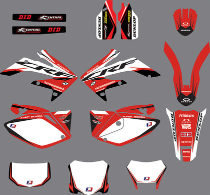 Kit déco HONDA CRF250X 2004-2016 ORIGINE