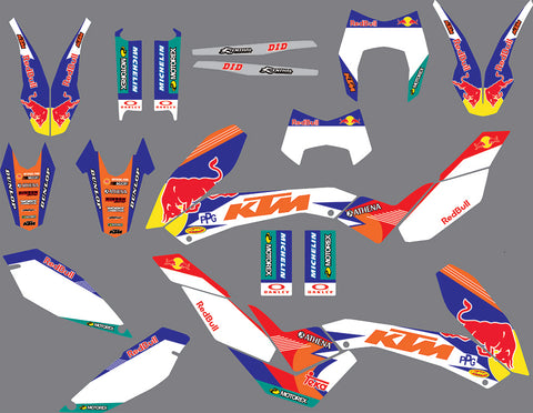 Kit Déco KTM 690 SMC 2008-2011 RB