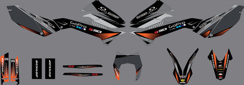 Kit Déco KTM 690 SMCR 2012-2018 FACTORY