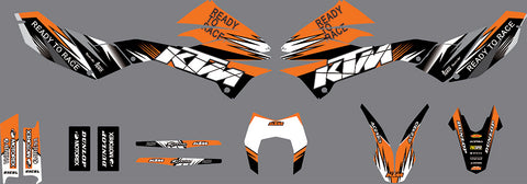 Kit Déco KTM 690 SMCR 2012-2018 READY TO RACE