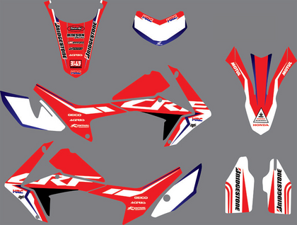 Kit Déco HONDA CRF 250 L 2012-2018 ORIGINE