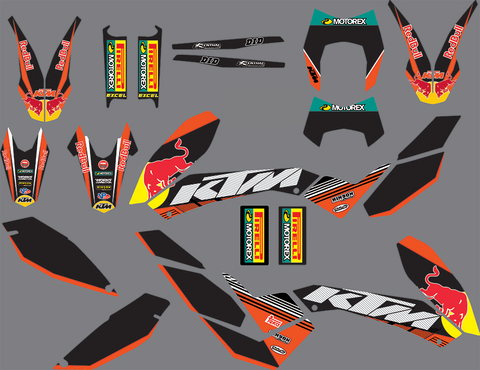 Kit Déco KTM 690 SMC 2008-2011 RB #2
