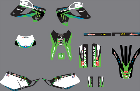 Kit Deco KAWASAKI KLX 250 1993-2007 MONSTER
