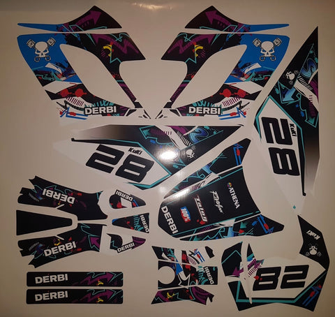 Kit Déco DERBI DRD RACING 2004-2009 URBAN
