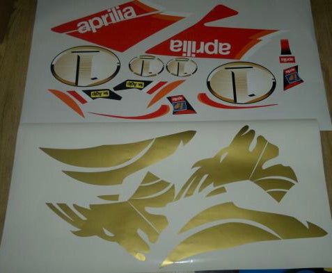 Kit Déco APRILIA SR DI-TECH AVANT 2005 GOLD LION