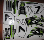 Kit Déco KAWASAKI KX 125-250 2003-2012 MONSTER