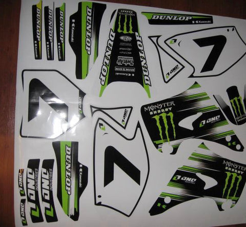 Kit Deco KAWASAKI KX 125-250 2003-2008 MONSTER