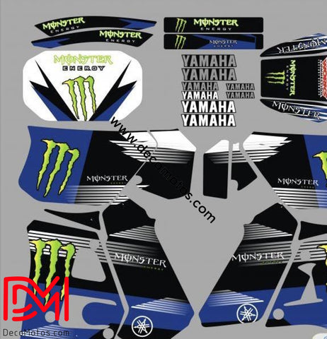 Kit Deco Yamaha Dtr 125 1992-2003 Monster C