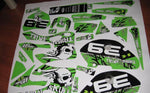 Kit Deco KAWASAKI KX 125-250 1999-2002 TRIBAL SKUNK