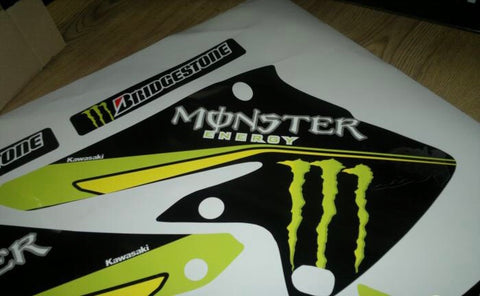 Kit Deco KAWASAKI KXF 250 2004-2005 MONSTER #2