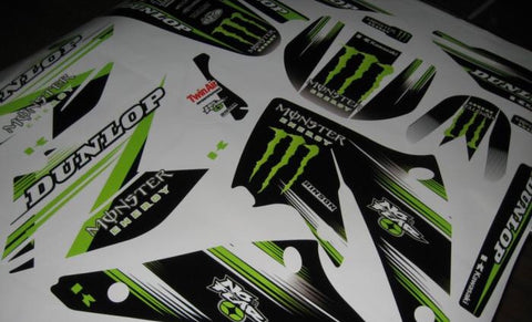 Kit Deco KAWASAKI KXF 250 2004-2005 MONSTER #3