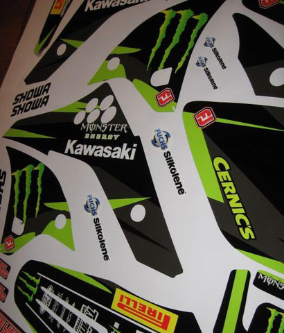 Kit Deco KAWASAKI KXF 250 2006-2008 MONSTER
