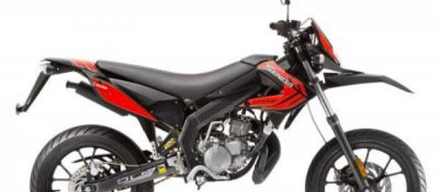 Kit Déco DERBI XTREME / RACING APRES 2011 Origine Rouge