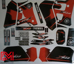 Kit Deco Yamaha Dtr 125 1992-2003 Red