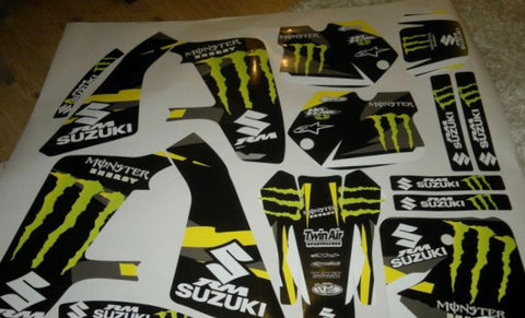 Kit Déco SUZUKI RM 125-250 1991-1992 MONSTER
