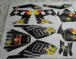Kit Déco DERBI XTREME 2003-2004 RED BULL B
