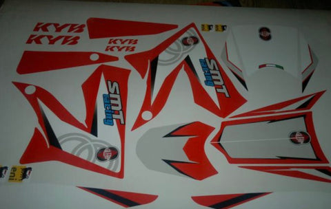 Kit Déco GILERA SMT APRES 2011 ORIGINE RED #2