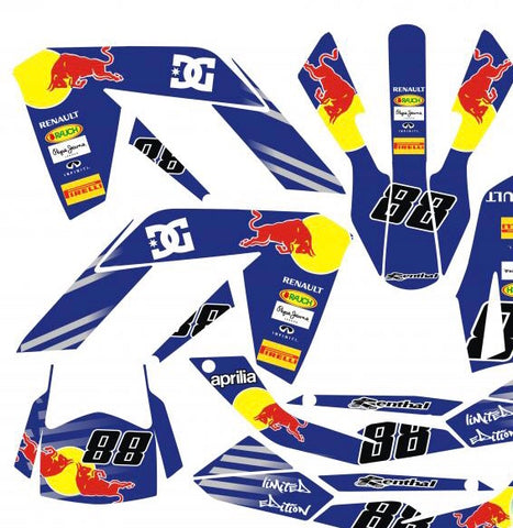 Kit Déco APRILIA SX 50 RED BULL