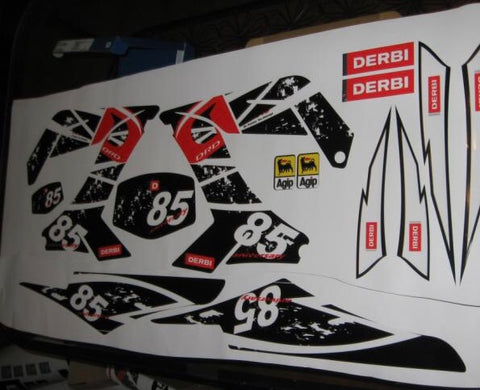 Kit Deco DERBI DRD PRO 85th