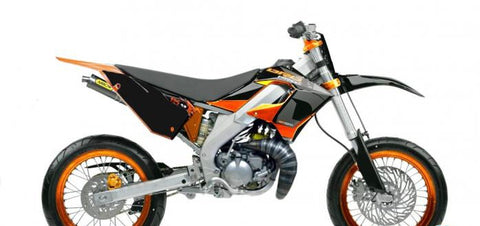 Kit Deco DERBI DRD PRO ORANGE