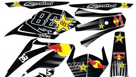 Kit Déco BETA 50 RR 2006-2010 RED BULL