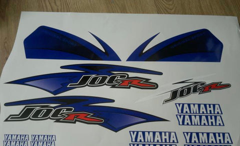 Kit Deco YAMAHA JOG RR BLUE