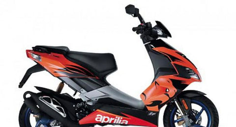 Kit déco APRILIA SR 50 2006-2020 Orange Lion