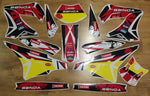Kit Déco DERBI PLASTIQUE TNT YELLOW RED
