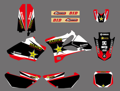 Kit déco YAMAHA YZ 85 2002-2014 RED ROCKSTAR