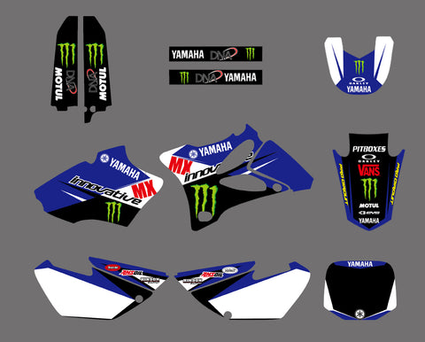 Kit déco YAMAHA YZ 85 2002-2014 BLUE MONSTER