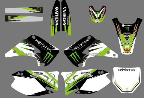 Kit Déco KAWASAKI KX 125-250 2003-2012 MONSTER #2
