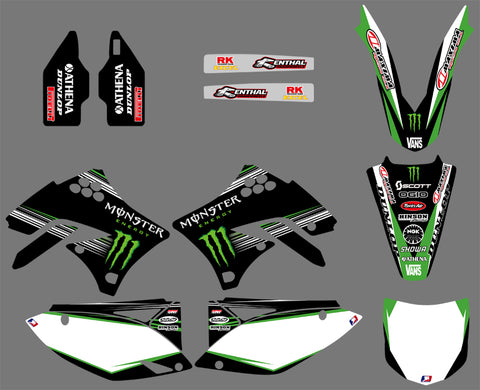 Kit Deco KAWASAKI KXF 450 2009-2011 MONSTER #3