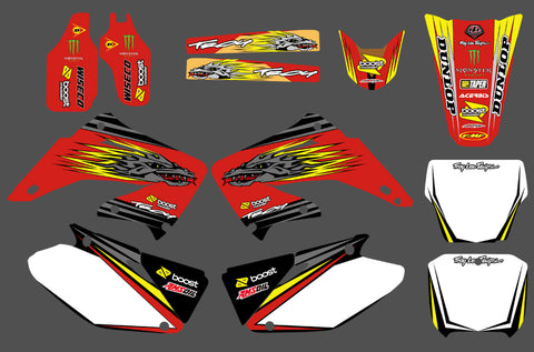 Kit Déco HONDA CR 125-250 2002-2012 DRAGON