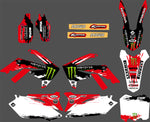 Kit déco HONDA CRF 250-450 (2009-2012) MONSTER