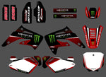 Kit Déco HONDA CR 85 2003-2012 RED MONSTER